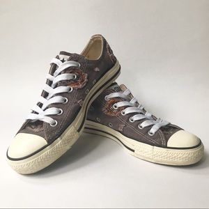 Converse Chuck Taylor Low Top Patchwork Sneakers 8